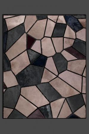 现代抽象几何图案地毯-ID:4000729