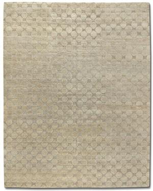 现代抽象几何图案地毯-ID:4001496