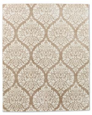 现代抽象几何图案地毯-ID:4001499