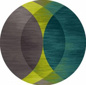 圆形地毯-ID:4003170