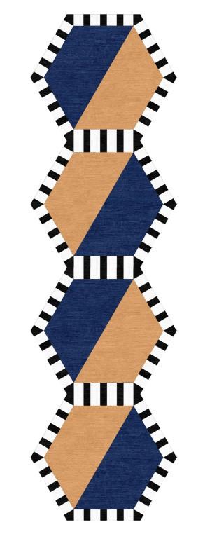 爱马仕现代地毯-ID:4003296