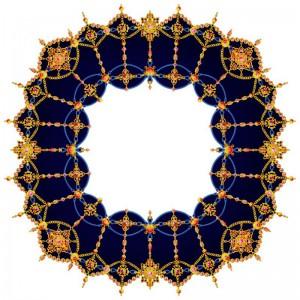 圆形地毯-ID:4003299