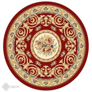 圆形古典欧式地毯-ID:4003323
