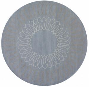 圆形地毯-ID:4003896