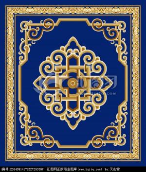 欧式地毯-ID:4004352