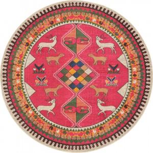 圆形地毯-ID:4004625