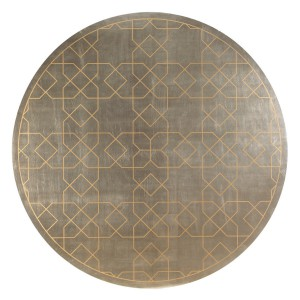 圆形地毯-ID:4004867