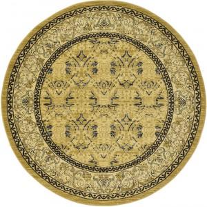 圆形古典欧式地毯-ID:4004925