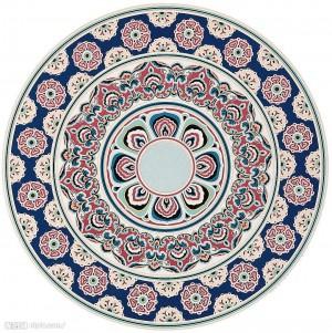 圆形地毯-ID:4005773