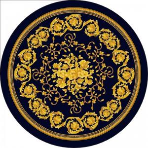 圆形地毯-ID:4005920
