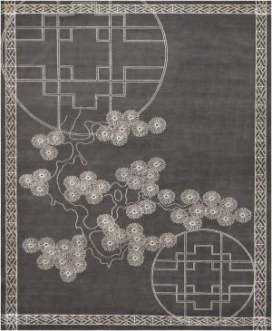 中式地毯-ID:4006206