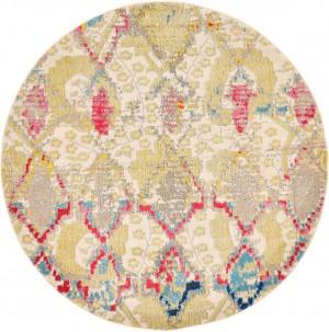 圆形地毯-ID:4006401