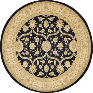 圆形古典欧式地毯-ID:4006681