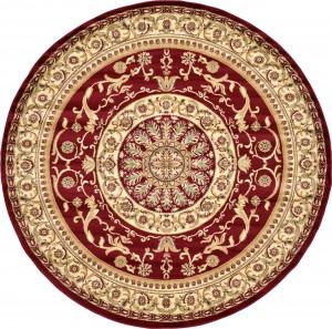 圆形古典欧式地毯-ID:4007015
