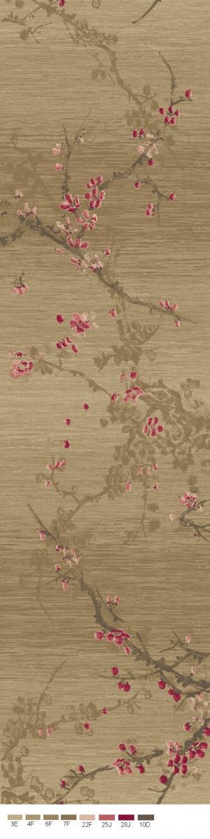地毯之水墨新中式-ID:4007199