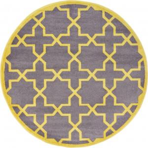 圆形地毯-ID:4007291