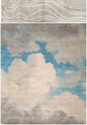 D08水墨东方美学地毯抽像艺术纹理贴图 软装材料设计方案概念素材-淘宝网-ID:4007393