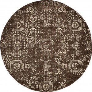 圆形地毯-ID:4007428