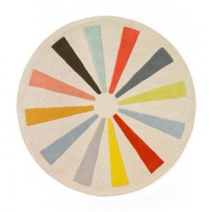 圆形地毯-ID:4008716