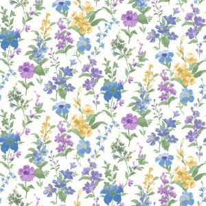 田园花纹壁纸-ID:4013133