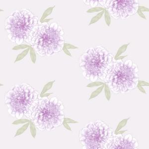 田园花纹壁纸-ID:4013993