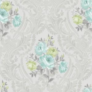 田园花纹壁纸-ID:4014053