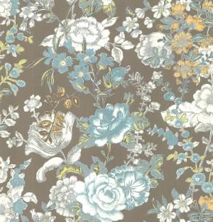 田园花纹壁纸-ID:4014163