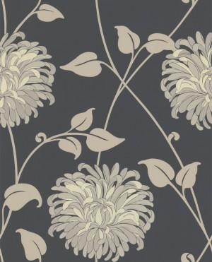 现代植物图案花纹壁纸-ID:4014380