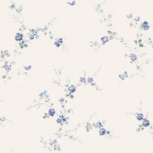 田园花纹壁纸-ID:4014617