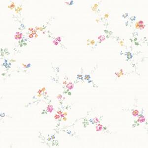 田园花纹壁纸-ID:4015344