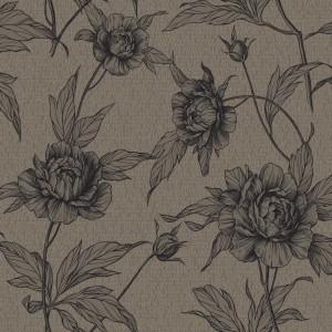 田园花纹壁纸-ID:4015706