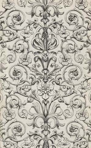 欧式花纹壁纸-ID:4015763