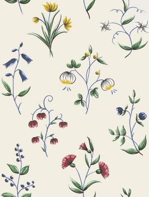 欧式英伦田园花纹壁纸-ID:4015920