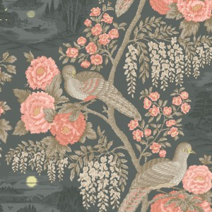 田园花纹壁纸-ID:4015944