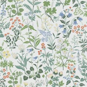 田园花纹壁纸-ID:4017209