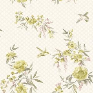 田园花纹壁纸-ID:4017323