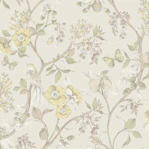 田园花纹壁纸-ID:4017470