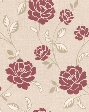 现代植物图案花纹壁纸-ID:4017568