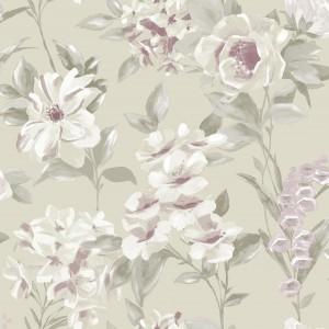 田园花纹壁纸-ID:4017695
