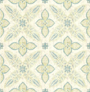 田园花纹壁纸-ID:4017715