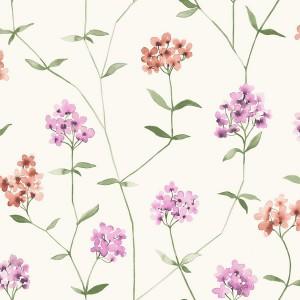 田园花纹壁纸-ID:4018337