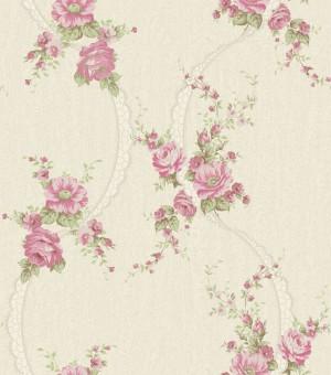 田园花纹壁纸-ID:4018836