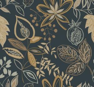 现代植物图案花纹壁纸-ID:4018954