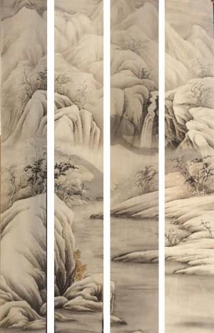 新中式装饰画-ID:4027286