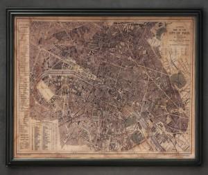 地图装饰画-ID:4031828