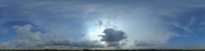 全景天空-蓝天多云-ID:4037737