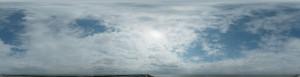 全景天空-蓝天多云-ID:4037922