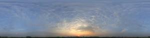 全景天空-日落-ID:4038055