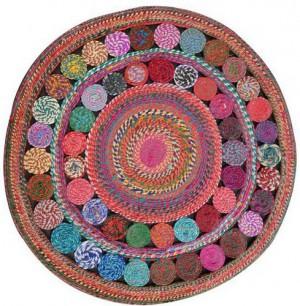 圆形地毯-ID:4007430
